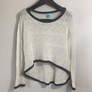 H.I.P. High Low sweater. Size Large